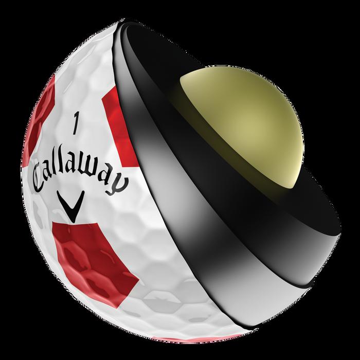 Chrome Soft X Truvis Golf Balls