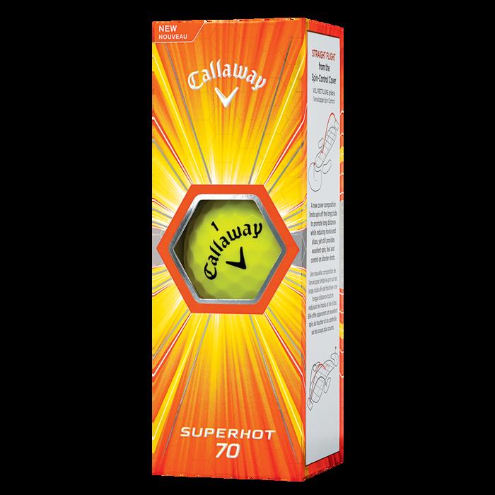 Superhot 70 15-Pack Yellow Golf Balls