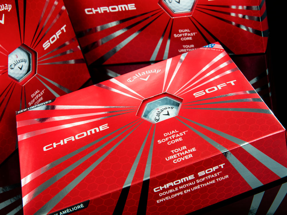 Callaway Chrome Soft Dozen Golf Balls