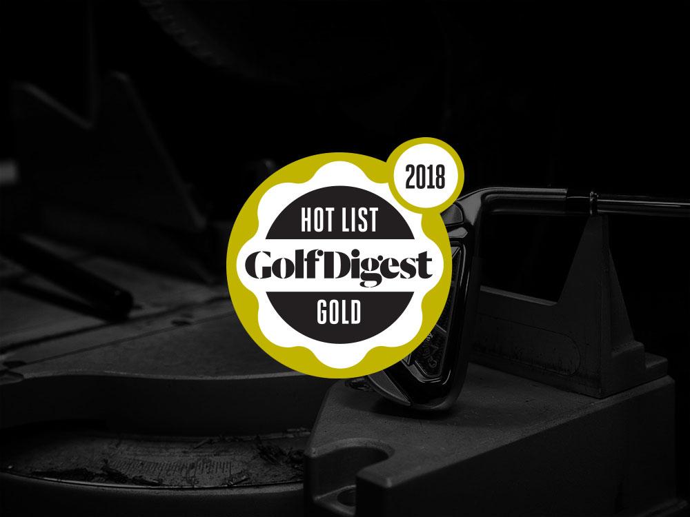 Callaway Big Bertha Irons 2017 Golf Digest Hot List Badge